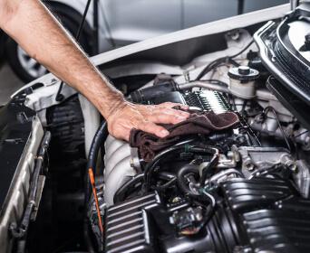 Auto Engine Detailing