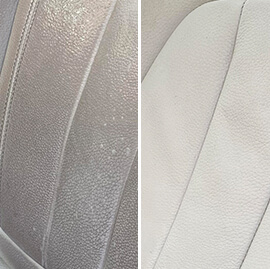 auto interior leather cleaning