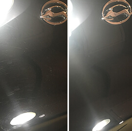 Swirl marks removed