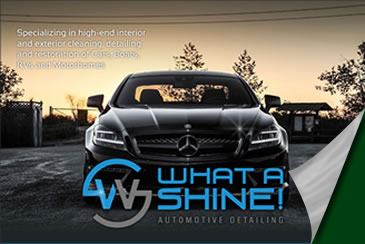 What A Shine! Auto Detailing digital brochure
